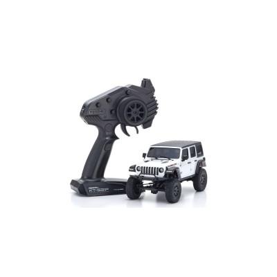 Kyosho MINI-Z 4x4 MX-01 Jeep Wrangler Rubicon Bright White Metallic