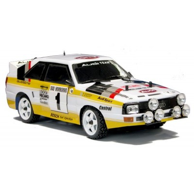 The Rally Legends AUDI QUATTRO 1985 RC ARTR 4wd Painted