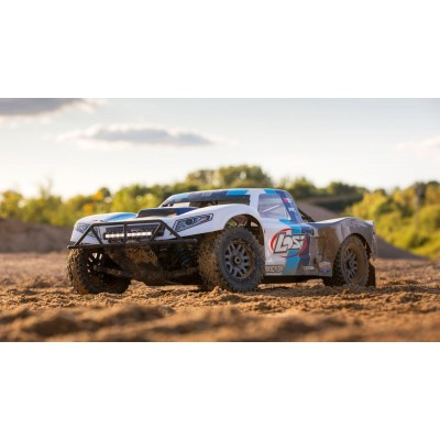 Losi 5ive T 2. 0 1/ 5 scale 32cc Short Course GAS AVC Blue BND