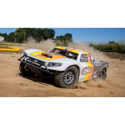 Losi 5ive T 2. 0 1/ 5 scale 32cc Short Course GAS AVC Grey BND