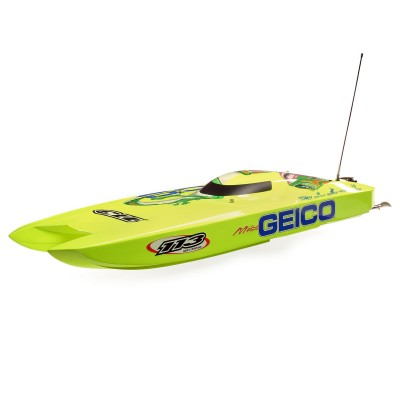 Pro Boat Miss Geico zelos 36 Catamaran Double Motor Brushless RTR