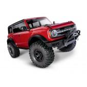 Traxxas TRX4 Bronco 2021 Crawler 4x4 RTR Red