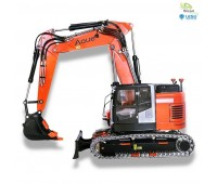 Lesu 1:14 short-tail excavator ET26L with adjustable boom and doz
