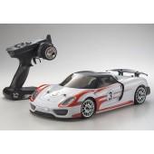 Kyosho Fazer VE Porsche 918 Spyder Weissach Readyset 1/10