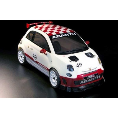Queens of the Road 500 Abarth Assetto Corse 1-9 RTR 4wd