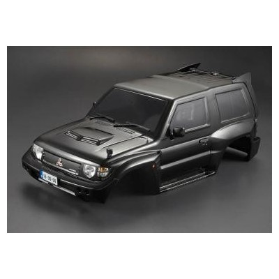 KillerBody Mitsubishi Pajero Evo 1998 color black.