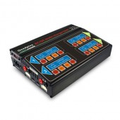 EV PEAK Quadplay EVQ6AC Multi 4 LiPo NiMh Multiple Battery Charger 50w x 4