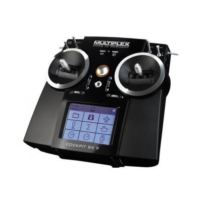 multiplex cockpit sx 9 with rx m link radio tx rx system. Black Bedroom Furniture Sets. Home Design Ideas