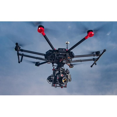 Dji Matrice 600 COMBO Drone Esa Ronin MX for Red Scarlet Camera Parachutes
