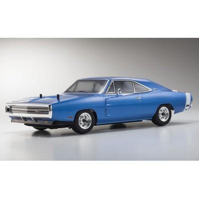 Kyosho Fazer VEi Dodge Charger 1970 Blu Readyset 1/10