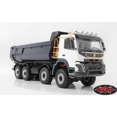 Rc4wd Armageddon Hydraulic 8x8 Dump Truck Volvo FMX 1:12 Scale RTR