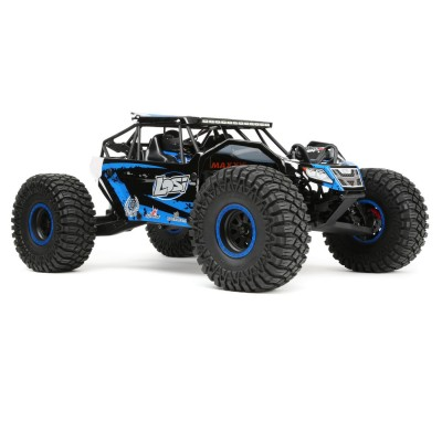 Losi Rock Rey 1: 10 Scale Rock Racer R /C Brushless AVC RTR 40+mph Blue