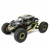 Losi Rock Rey 1: 10 Scale Rock Racer R /C Brushless AVC RTR 40+mph Yellow