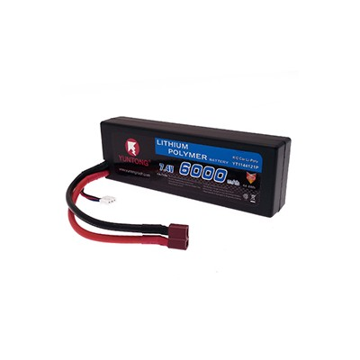 Yuntong Lipo Car Battery 2s 7 4v 6000 Mah 40c Hardcase