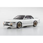 Kyosho MINI-Z AWD MA-020 S Nissan Silvia Aero White Drift Gyro w/ Led