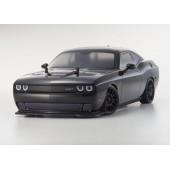 Kyosho Fazer VEi Dodge Challenger Hellcat Black Readyset 1 10 dDrive ESCLess