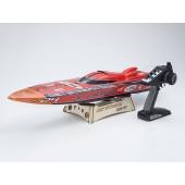 Kyosho JetStream 888 VE Brushless Race Boat Rc Readyset