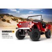 Gmade 1/ 10 Scale GS01 Sawback 4x4 R/ C Scaler RTR Red
