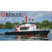 Aquacraft Rescue Barca radiocomandata 17 RTR Fireboat + Water Cannon