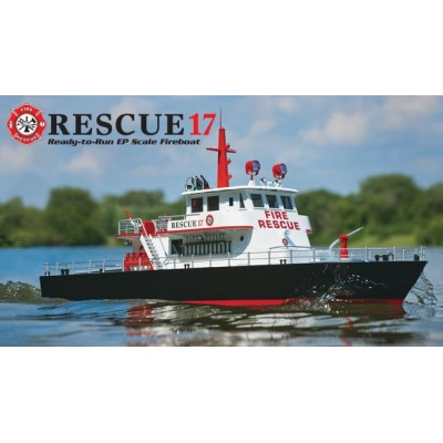 Aquacraft Rescue 17 RTR Fireboat + Water Cannon