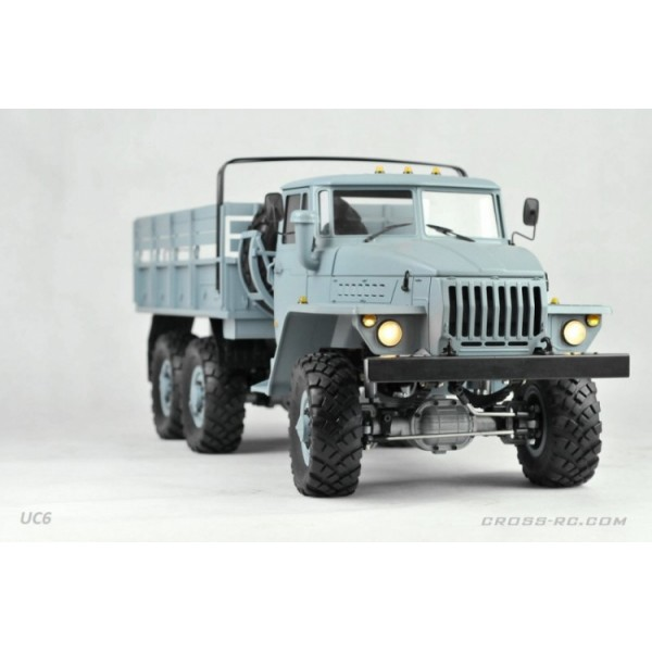 cross rc scale model trial 6x6 truck r c uc6 kit 1 12. Black Bedroom Furniture Sets. Home Design Ideas