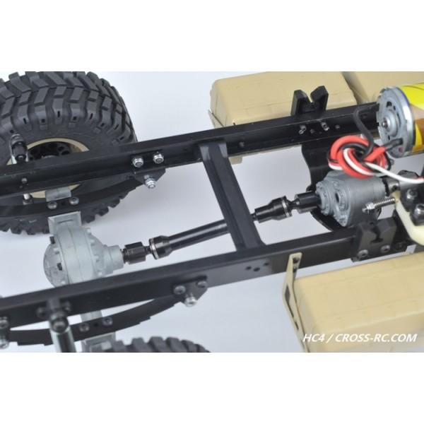 Cross Rc Scale Model Trial 4x4 Truck R C Hc4 Kit 1 10