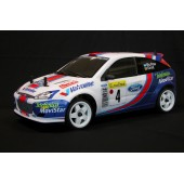 The Rally Legends Ford Focus WRC Mc Rae Grist ARTR Transparent 4wd EZRL002