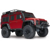 Traxxas TRX4 Land Rover Defender Scaler RC 4x4 RTR 1/ 10 Rosso