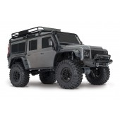 Traxxas TRX4 Land Rover Defender Scaler RC 4x4 RTR 1/ 10 Silver