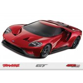 Traxxas Rc Car OnRroad Ford GT 4Tec 2.0 Chassis 1/ 10 Scale rtr Red