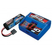 Pack Charger Ez-peak + Battery Traxxas ID Lipo 2S 7.4V 5800 Mah 25C