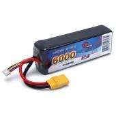 Battery Vapex Lipo 3S 11 .1V 6000 Mah 50C XT90