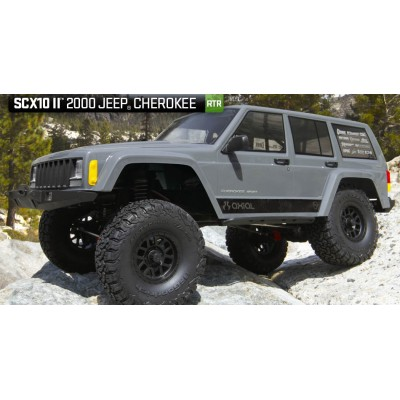 Axial SCX10 II™ 2000 Jeep® Cherokee 1/10th Scale Electric 4WD RTR