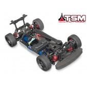 Traxxas Chassis GT 4Tec 2.0 VXL 3S Brushless TQi TSM Onroad
