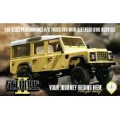 Rc4wd Gelande 2 Land Rover Defender D110 LWB Scaler 1/ 10 RTR 0032