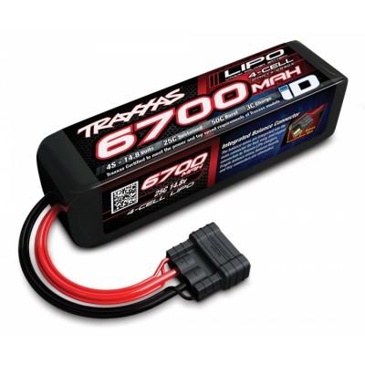 Battery Traxxas ID Lipo 4S 14.8V 6700 Mah 25C X-Maxx 8S