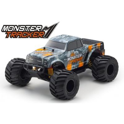 Kyosho Monster Tracker Orange 1 /10 Electric EP 2WD Monster Truck Readyset