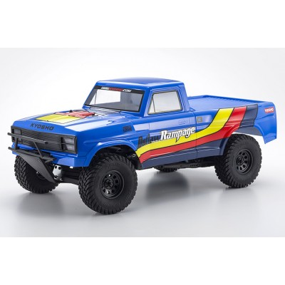 Kyosho Truck Electric 1 /10 Offroad Outlaw Rampage blue EP 2WD 2RSA RS