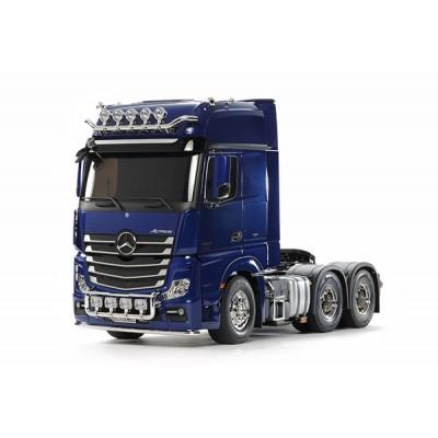 Tamiya Kit Traktor Truck Mercedes Actros 6x4 Gigaspace 3363 Blue 1 /14 TA56354
