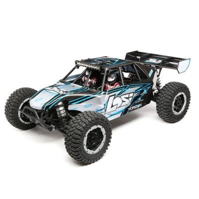 Losi 1 /5 Desert Buggy XL-E 4WD Brushless RTR with AVC Grey