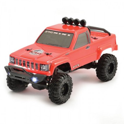 FTX Outback Mini 4x4 Scaler 1/ 24 RTR with Led Lights Red