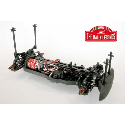 The Rally Legends Back2fun Ready complete 1/10 Chassis Legal ARTR