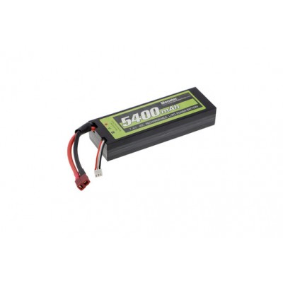 Monstertronic Battery LiPo 2S 5400mah 7,4v 55c Hard Case