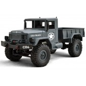 Funtek CR4 Military Truck 4x4 1/ 16 with Lights RTR Grey