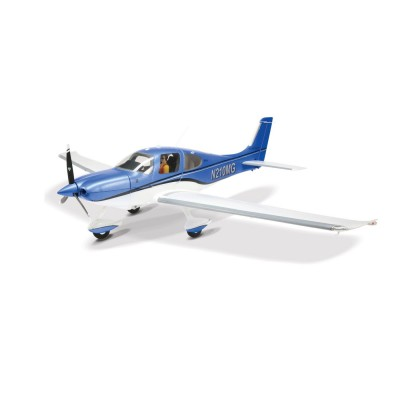E-flite CirrusSR22t 1. 5M R/C Plane with Positional Lights and Pilot