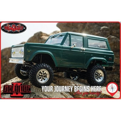 Rc4wd 1/ 18 RTR Scaler Gelande 2 BlackJack