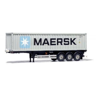 Tamiya Container Trailer Maersk 40ft 3-Axles RTR