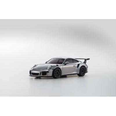 Kyosho MINI-Z RWD Porsche 911 GT3 Silver 2WD