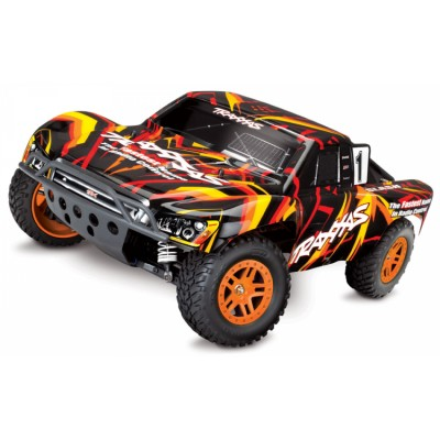 Traxxas Slash 4wd RTR Brushed TQ Arancio