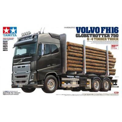 Tamiya Kit Volvo FH16 6x4 RC Timber Traktor Truck 1/ 14
